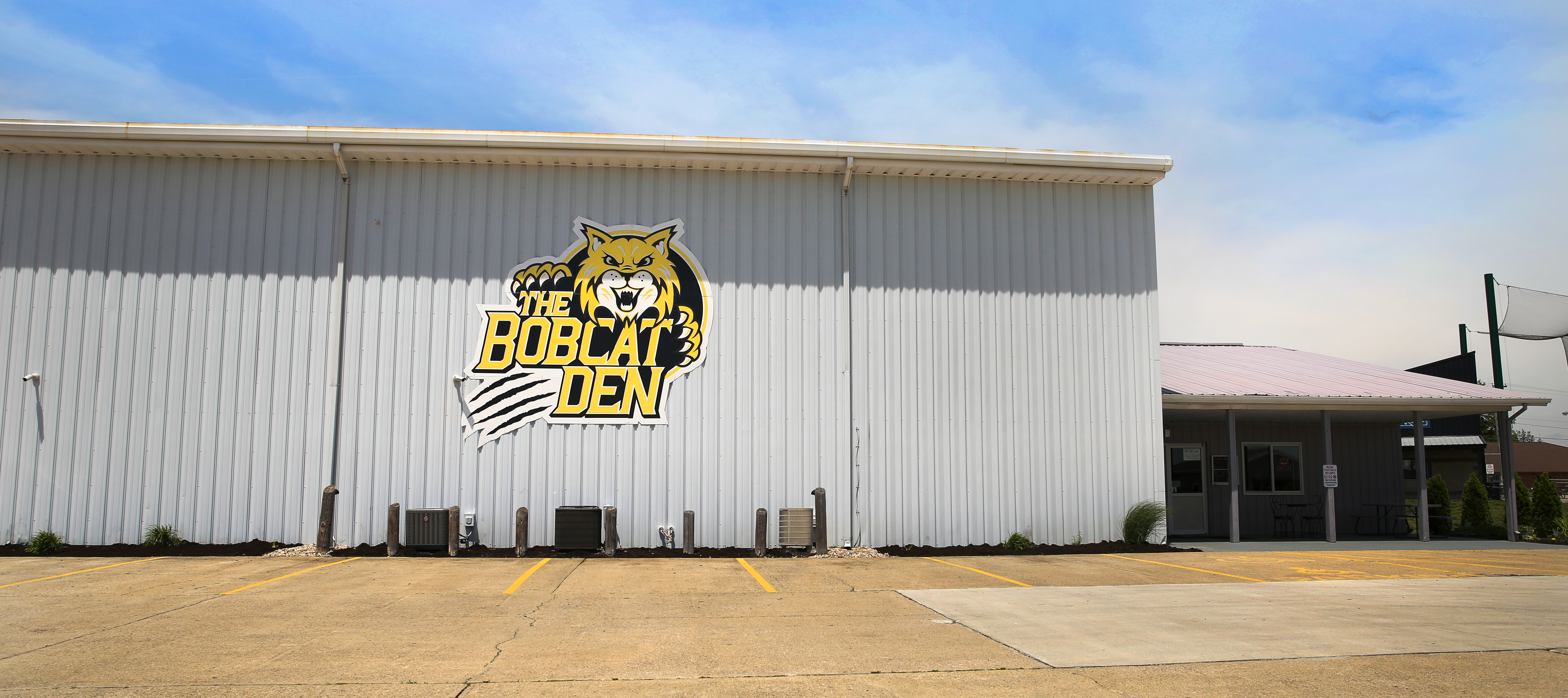 The Bobcat Den building