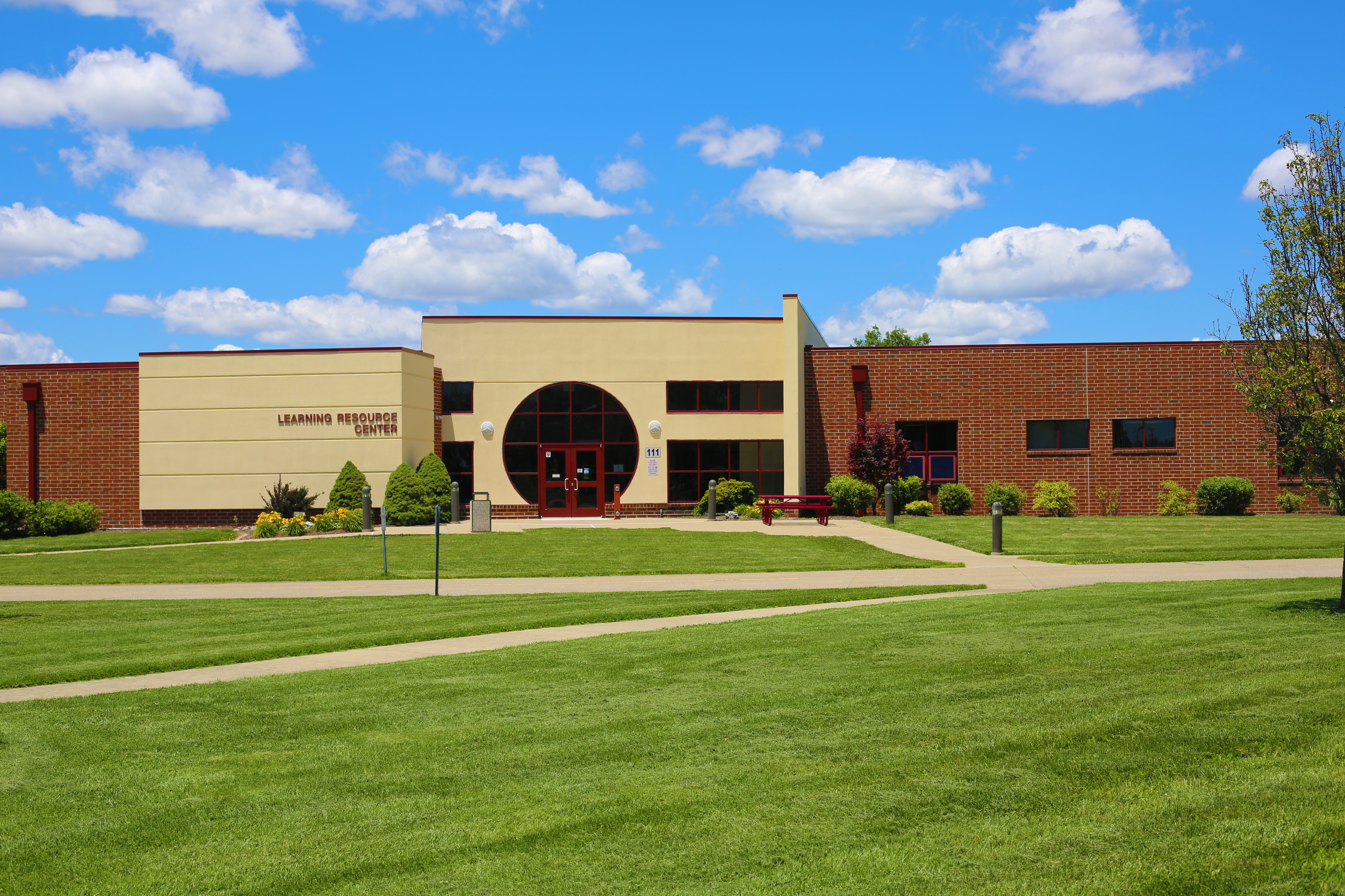 The Learning Resource Center building