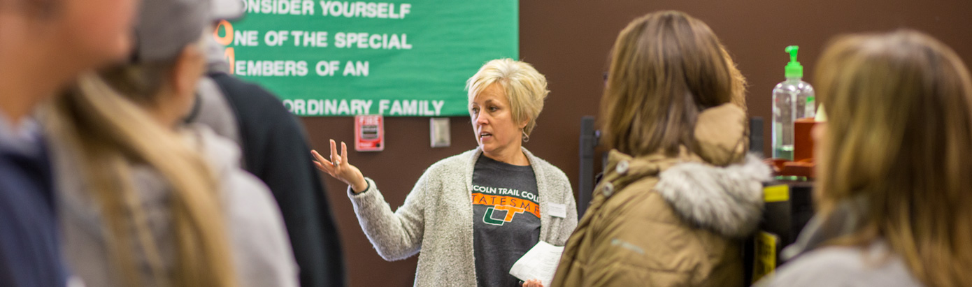 A tour of Lincoln Trail College